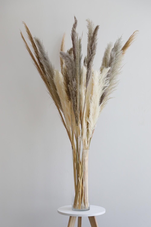Dry Flowers Arrangement (115cm-155cm)