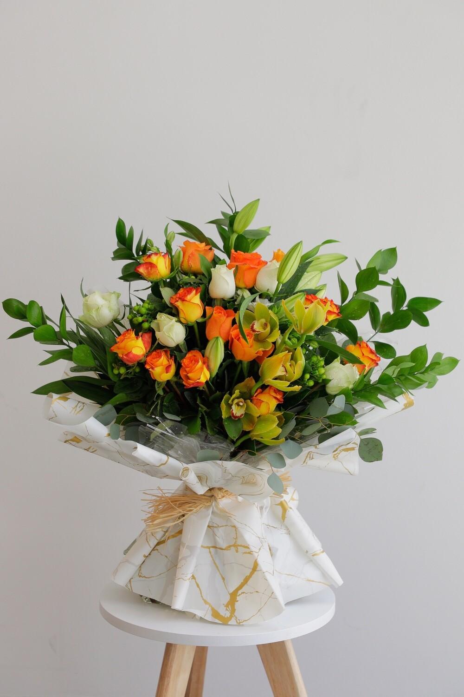 Floweer Bouquet Mix Rose