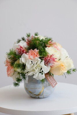 Fowers With Glass