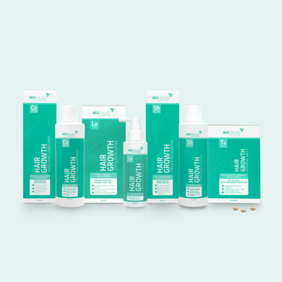 Treatment for advanced hair loss 活髮套裝 (重度脫髮適用)