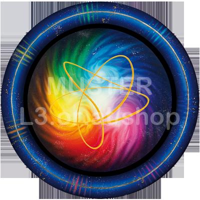 Amirasolis Energiescheibe - Heilenergie der Zentralsonne mit Akaija Symbol 00035