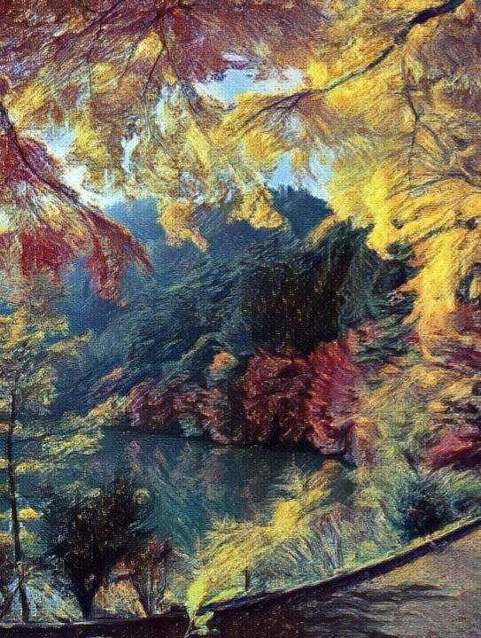 Осень в стиле Ван Гога