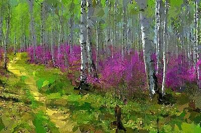 Ранняя весна в лесу