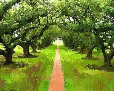Зеленая аллея