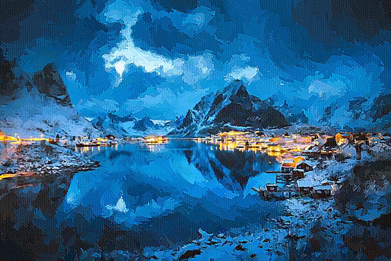 Гора Олстинден