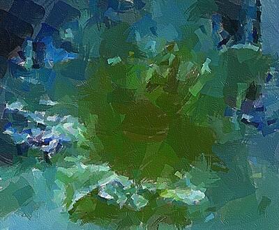 В зеленых тонах