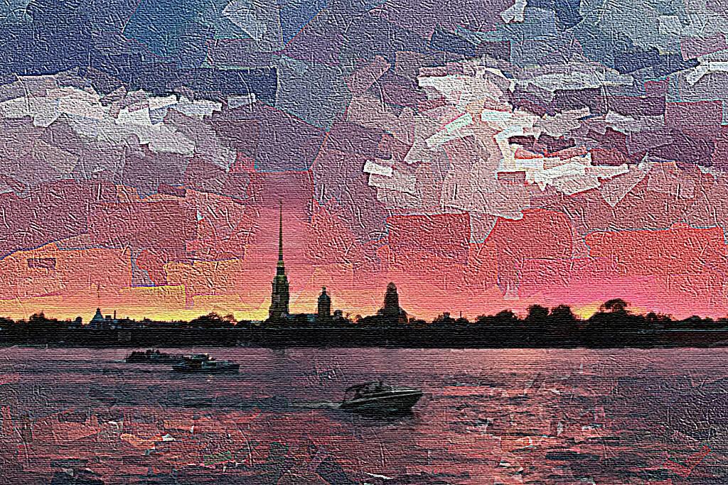 Белые ночи в Петербурге