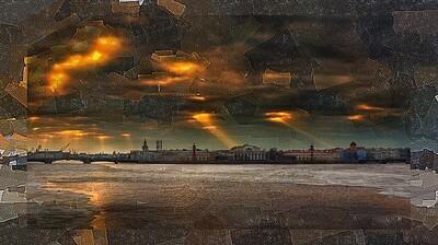 Тучи над Петербургом