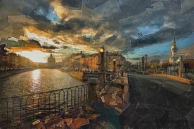 Восход в Петербурге
