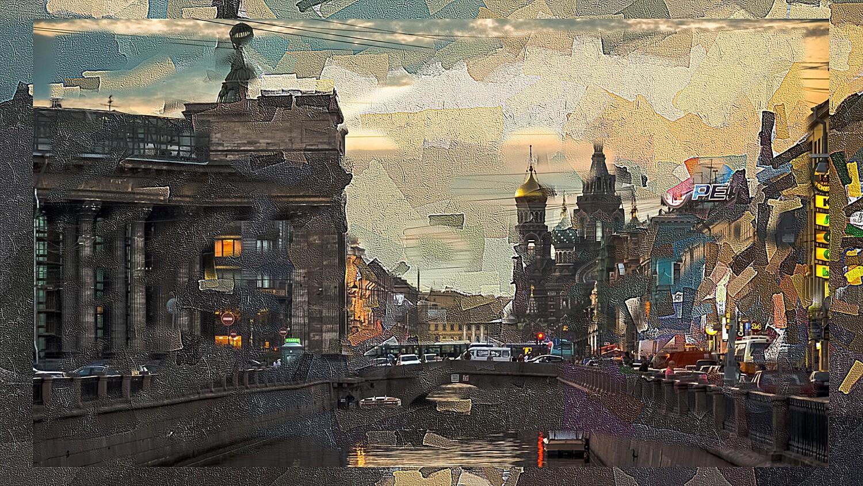 Вид на канал Грибоедова