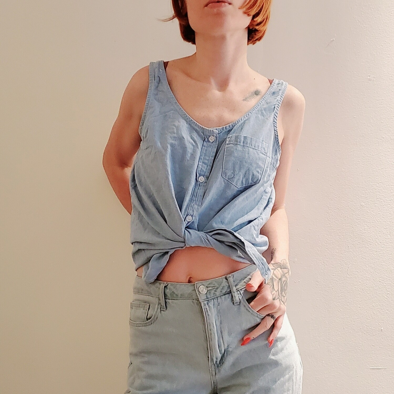 Camisole en jeans Amnesia 《M》