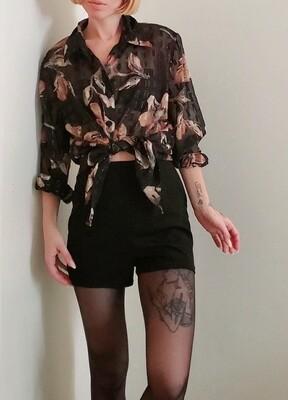 Short habillé taille haute《S》