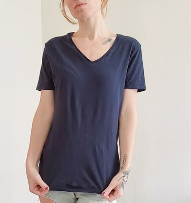 T-shirt basic bleu Zara《M》