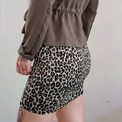 Jupe léopard 《XS》