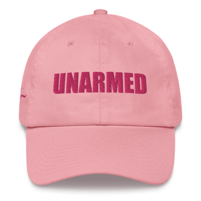 Unarmed Pink Dad Hat