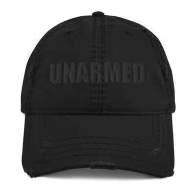 Distressed Dad Hat UNARMED/HOODLYFE