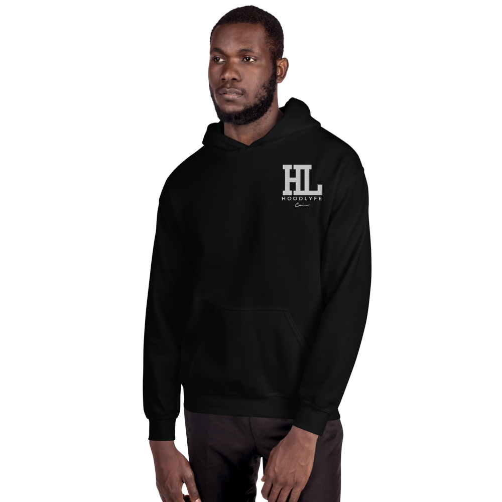 Unisex Hoodie HL /embroidery