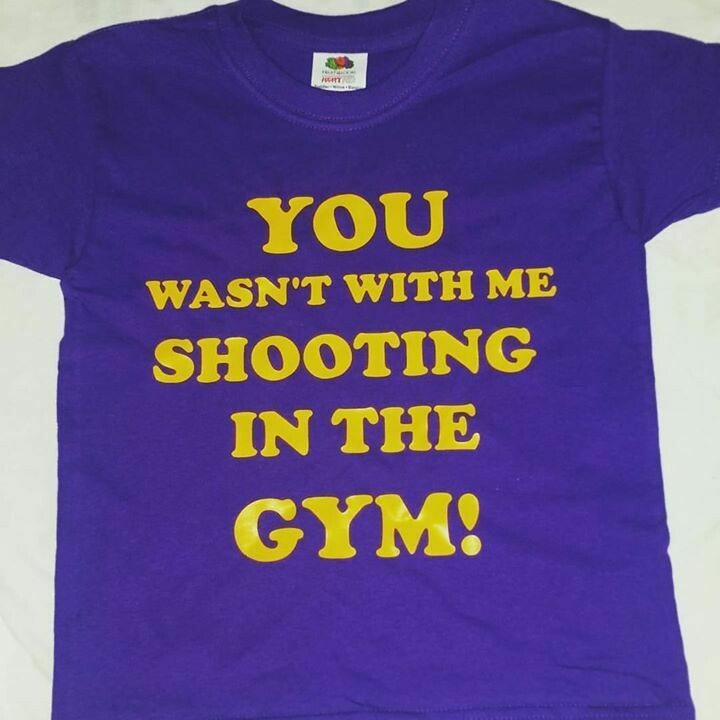 You Wasn't With me Shooting in The Gym!