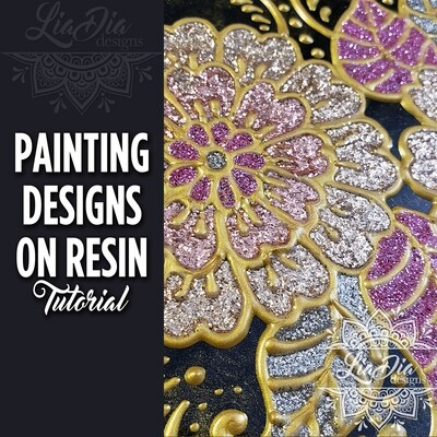 Painting Designs on Resin - Video Tutorial