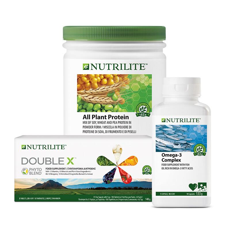 Foundational Trio Bundle with NUTRILITE™ DOUBLE X™