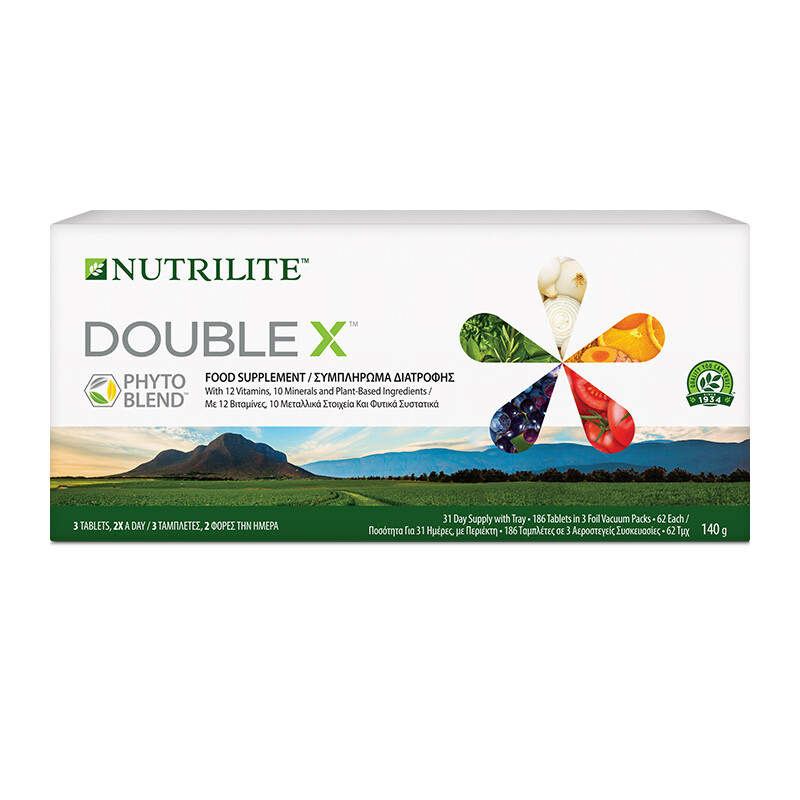 Multivitamin/Multimineral/Phytonutrient DOUBLE X™ NUTRILITE™ tray