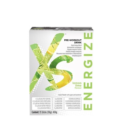 Pre-Workout Drink Lemon Lime Flavour XS™