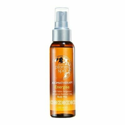 Planet Spa Aromatherapy Energise Body Mist - 100ml