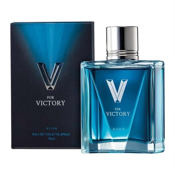 Avon V for Victory Eau de Toilette - 75ml