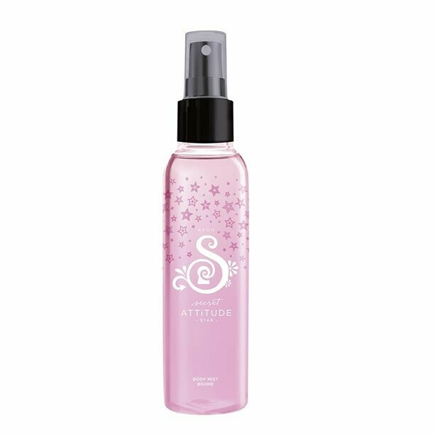 Secret Attitude Star Body Mist - 100ml