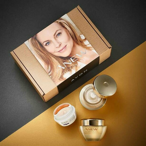Anew Ultimate Day, Night and Eye Cream Skincare Set