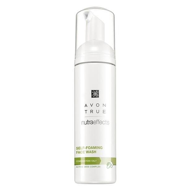 Avon True Nutra Effects Self-Foaming Face Wash