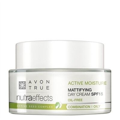 Avon True Nutra Effects Mattifying Day Cream SPF15