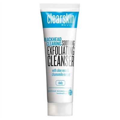 Clearskin Blackhead Clearing Soothing Exfoliating Cleanser