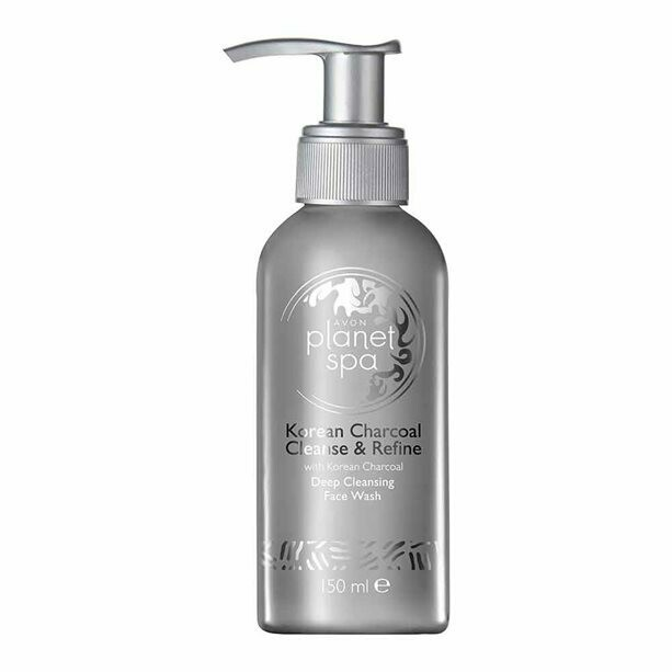 Planet Spa Korean Charcoal Deep Cleansing Face Wash - 150ml