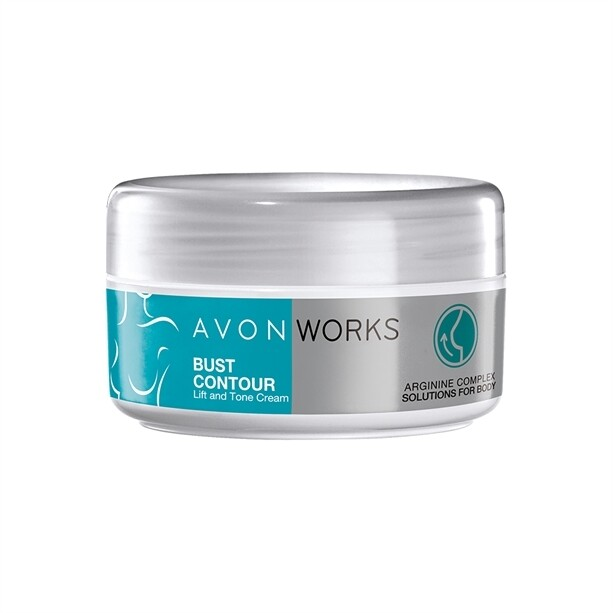 Avon Works Bust Contour Lift and Tone Cream - 150ml