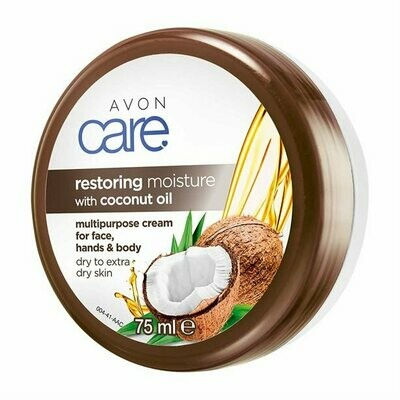 Avon Care Restoring Moisture with Coconut Oil Multipurpose Cream - 75ml