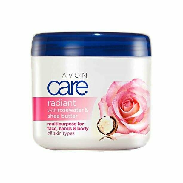 Radiant Rosewater & Shea Butter Multipurpose Cream - 400ml