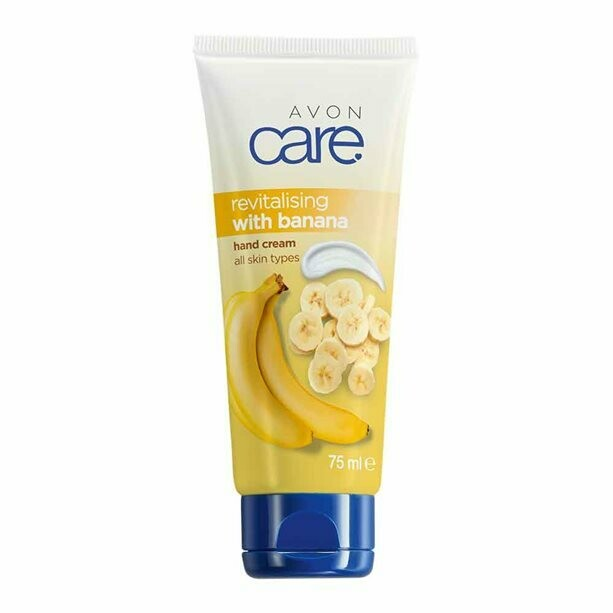 Avon Care Revitalising Banana Hand Cream - 75ml