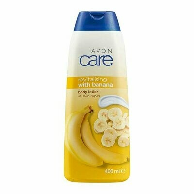 Avon Care Revitalising Banana Body Lotion - 400ml