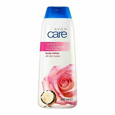 Avon Care Radiant Rosewater & Shea Butter Body Lotion - 400ml