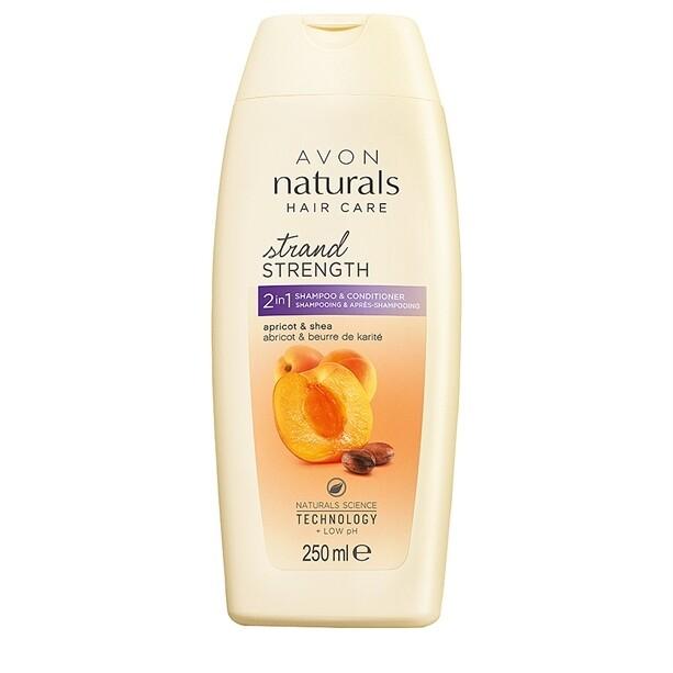 Apricot & Shea Butter 2-in-1 Shampoo & Conditioner - 250ml