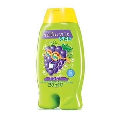 Groovy Grape Body Wash & Bubble Bath - 250ml