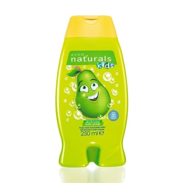 Kids Playful Pear Body Wash & Bubble Bath - 250ml