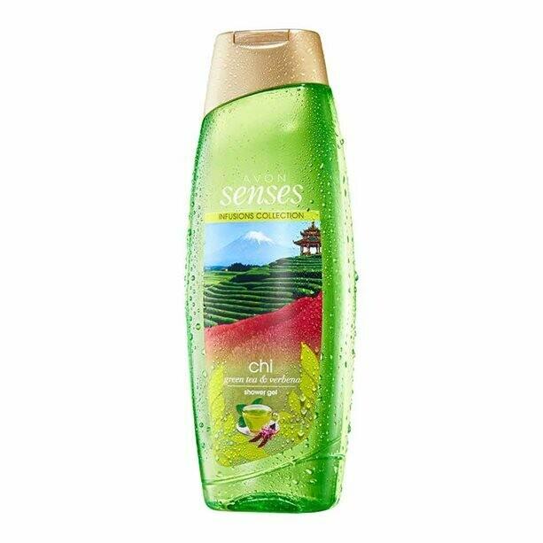 Senses Chi Green Tea & Verbena Shower Gel - 500ml