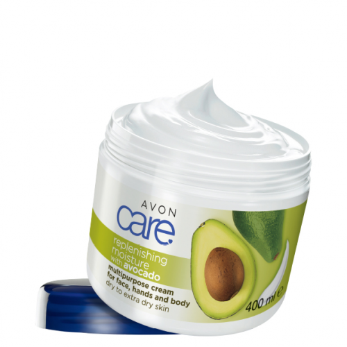 Avon Care Avocado Multipurpose Cream for Face Hands & Body 400ml