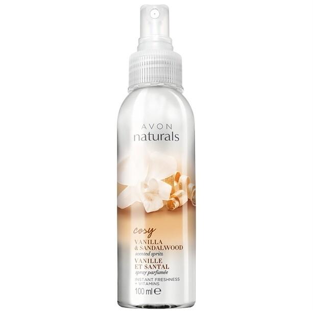 Naturals Vanilla & Sandalwood Body Mist - 100ml