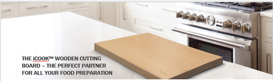 Wooden Cutting Board iCook™