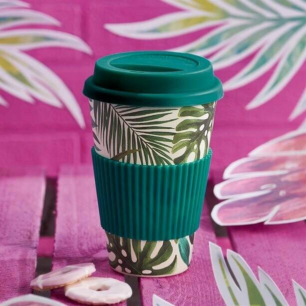Tropical Bamboo Mug