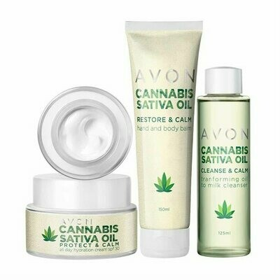 Cannabis Sativa Oil Skincare Collection