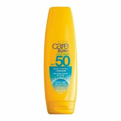 Face & Body Moisturising Sun Cream SPF50 - 150ml